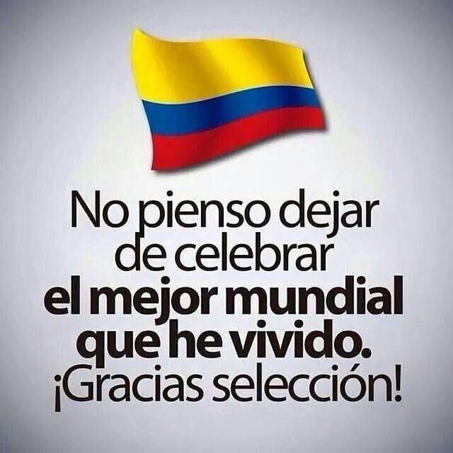 Gracias seleccion colombia