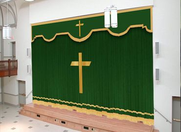 Pin By Stage Curtains On Church Curtains | Pinterest