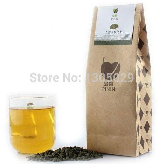 250 г один мешок лучший женьшень чай тайвань Gaoshan женьшень улун 250 г/пакет чай для похудения с qs сертификации для бесплатная доставка