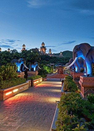 Sun City .. without a doubt the Palace is the most epic and beautiful place I have ever stayed!