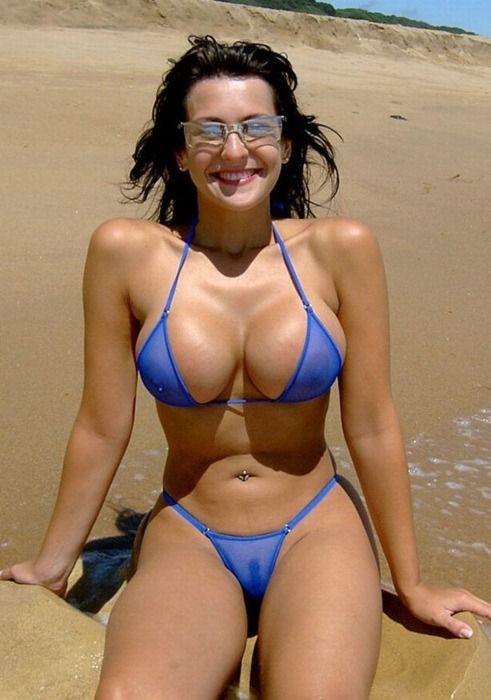 Micro bikini mom