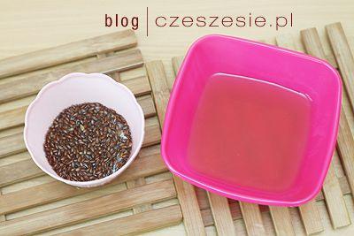 DIY Nawilżanie włosów siemieniem i miodem Czeszę się - blog o włosach :: czeszesie.pl