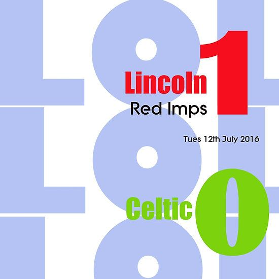 Lincoln Red Imps 1-0 Celtic
