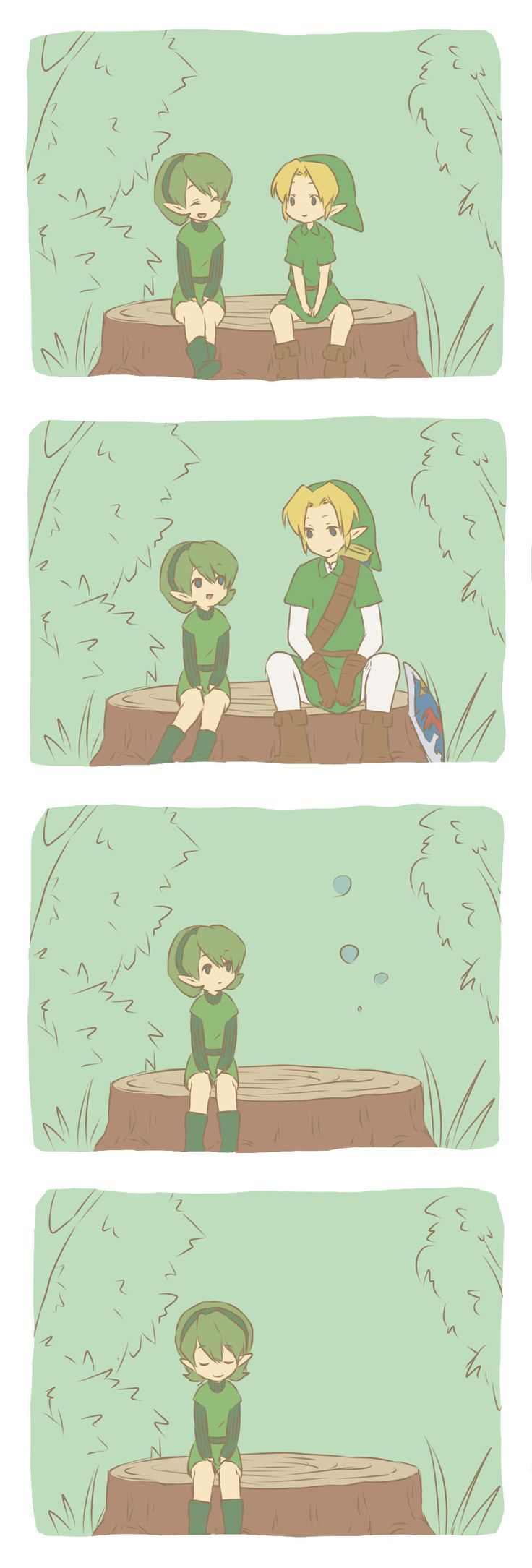 /Ocarina of Time/#1057925 - Zerochan | The Legend of Zelda: Ocarina of Time, Link and Saria