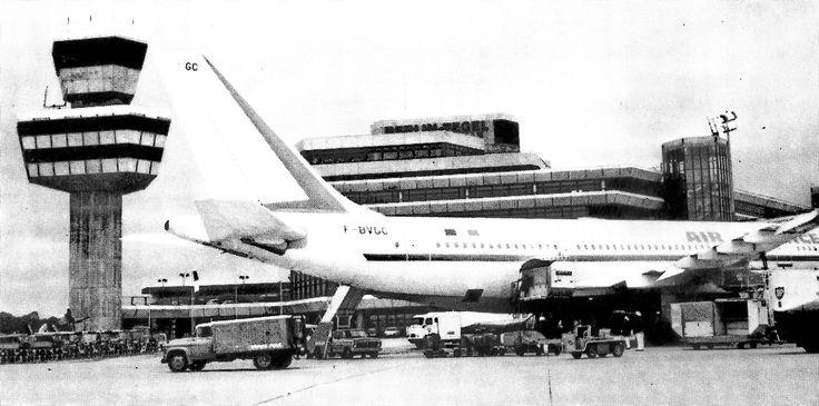 Flughafen Berlin-Tegel, Reinickendorf, 1974 #570: Berlin-Tegel airport (TXL), Berlin-Reinickendorf, 1974