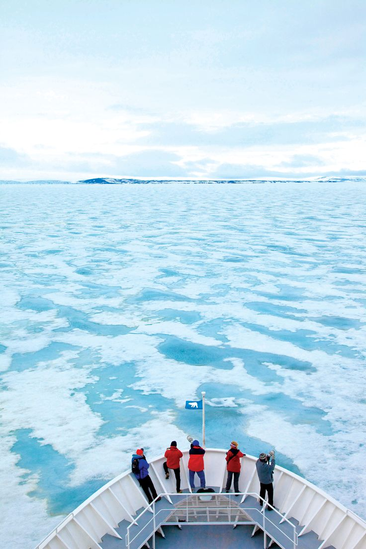 Lindblad Expeditions' Land of the Ice Bears cruise  through Svalbard in the #Arctic Circle, granting up-close encounters with polar bears, walrus, and seals as well as passage through some of the world's most awe-inspiring scenery.