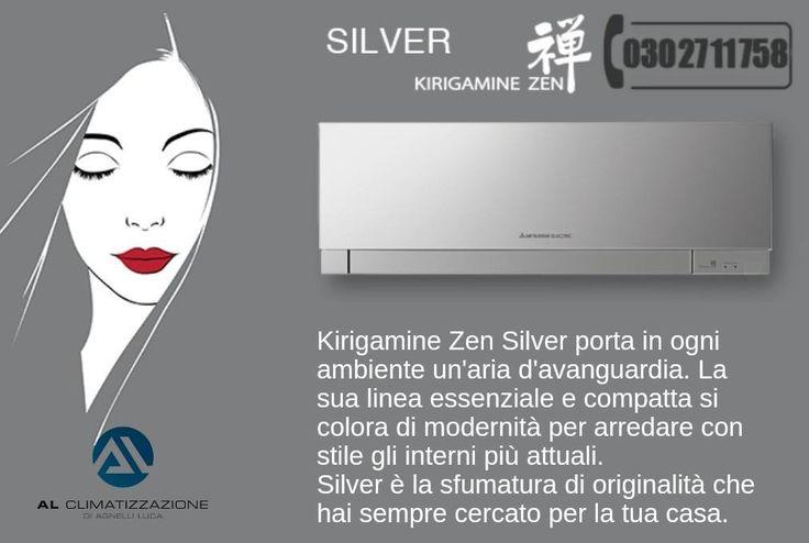 I climatizzatori Inverter a Pompa di Calore Kirigamine Zen sono pensati come veri e propri complementi d'arredo Richiedi un preventivo grautito per Brescia e provincia tel.0302711758