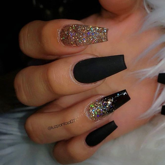 Fresh Ways How To Do Ombre Nails At Home Naildesignsjournal Ombre Nails Glitter Ombre Nail Designs Black Acrylic Nails