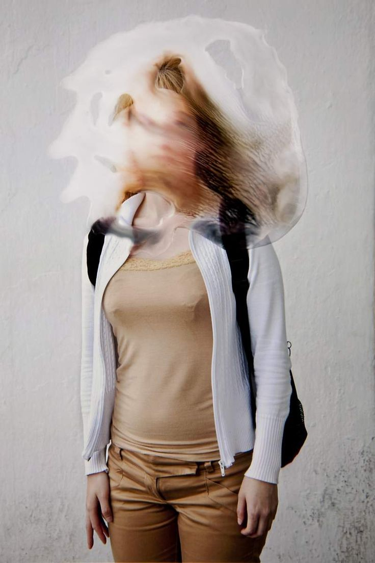 Experimental Portrait Photography by Angélica García