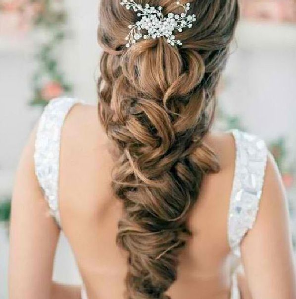 Not sure how to describe this hairstyle but its beautiful!