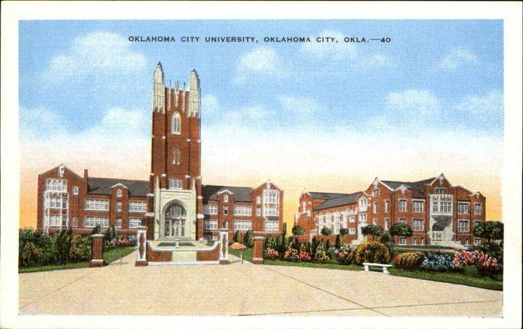 Oklahoma City University OK 1930s