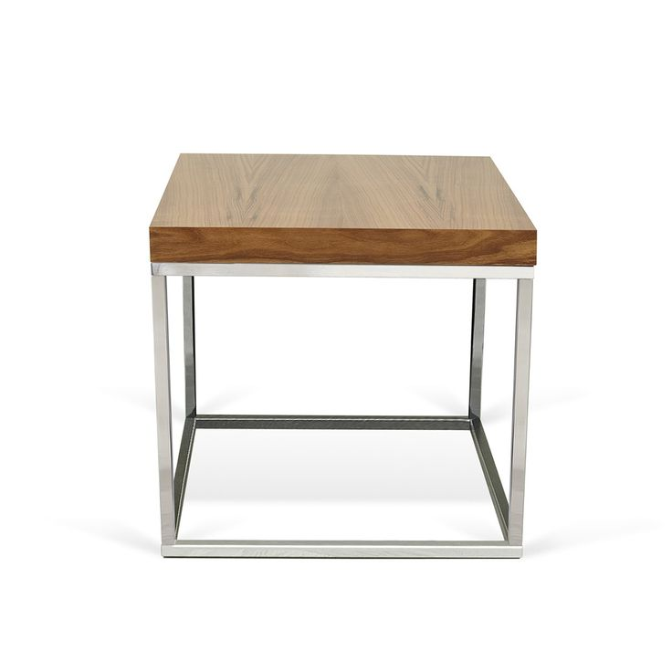 Prairie 50 Beistelltisch walnut/ chrome von #TemaHome  ab 204,00 € Der BeistelltischPRAIRIE 50 - ein Teil der Prairiefamilie von TemaHome. Der Tisch passt sich sehr gut an verschiedene Räumlichkeiten an, verbindet sich problemlos mit anderen Möbelstücken und kann dadurch vielseitig verwendet werden. Wählen Sie Ihren Favoriten der Prairie-Familie oder kombinieren Sie mehrere Einzelstücke. - Gestell 2cm breit, chrom - Tischplatte 5cmdick #Massivholzmöbel #Vollholzmöbel