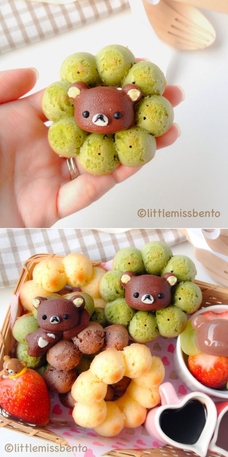// Rilakkuma Donut Bento //