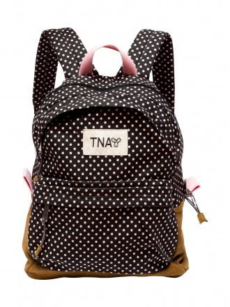 TNA Polka-Dot Backpack, item # 44901, $75