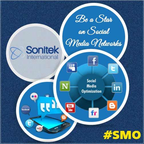We offer social media optimization services to businesses, professionals and other individuals. Know more here: https://goo.gl/7h9LpE #SMO #sonitekinternational #branding #success