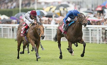 Mehmas shows true grit in Richmond Stakes for Richard Hannon. Goodwood 28.07.2016