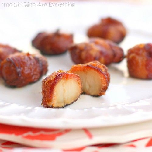 Bacon wrapped Water Chestnuts...these look so good!