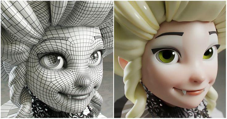 Modelado de personajes en 3D (Luis Gomez-Guzman)   Domestika