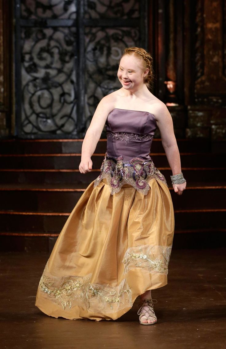 19-Year-Old Model With Down Syndrome Madeline Stuart Makes Triumphant Return to New York Fashion Week