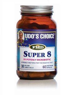 Udo's Choice Super 8 Hi-Potency Microbiotic 30 billion active cells per daily capsule