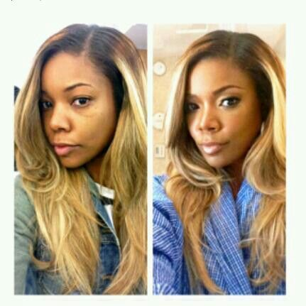 Admirable 1000 Images About Black Girls Blonde Hair On Pinterest Her Short Hairstyles For Black Women Fulllsitofus