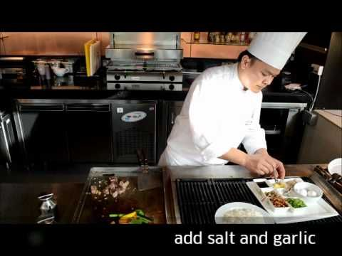 Beef Teppanyaki with Chef Preecha