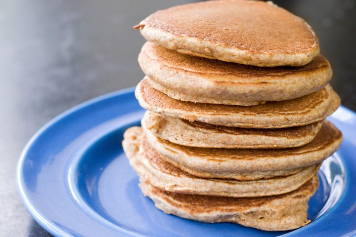 Almond Pancakes   Detox with this vegan take on a comfort food classic from Dr. Alejandro Junger!