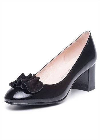 #TakingShape Lisa Block Heel #plussize #curvy #widefeet