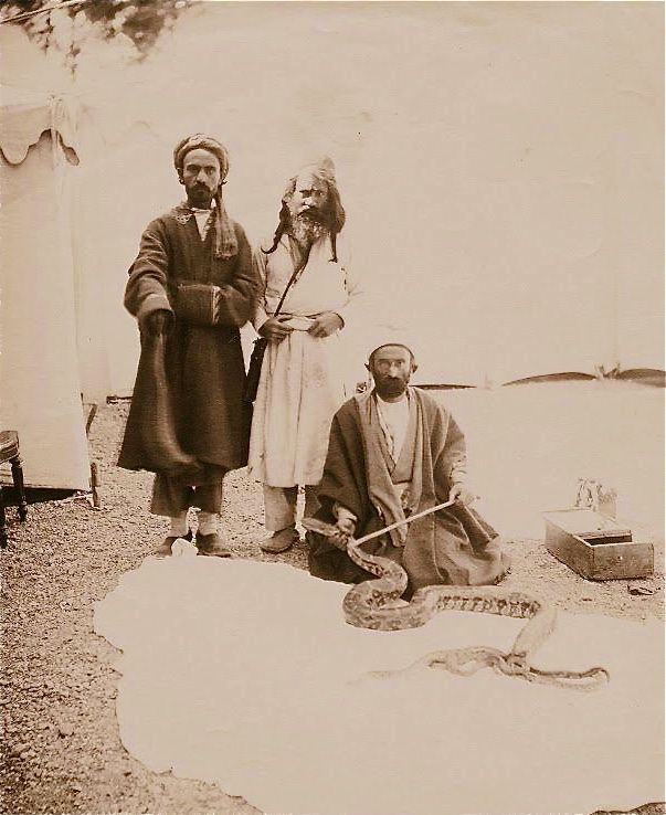 Dervishes with snake by Dmitri Ivanovich Yermakov; 1870's. http://www.rumisgarden.co.uk/