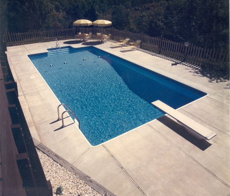 45 best backyard concreting images on pinterest | concrete pool