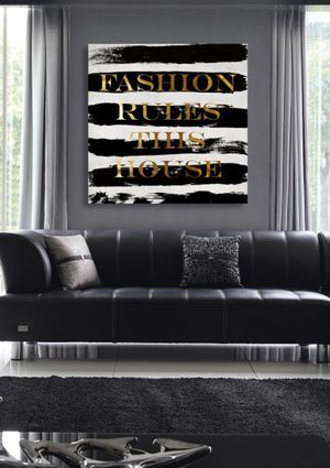 On ideeli: OLIVER GAL 'Fashion Rules' Canvas Art