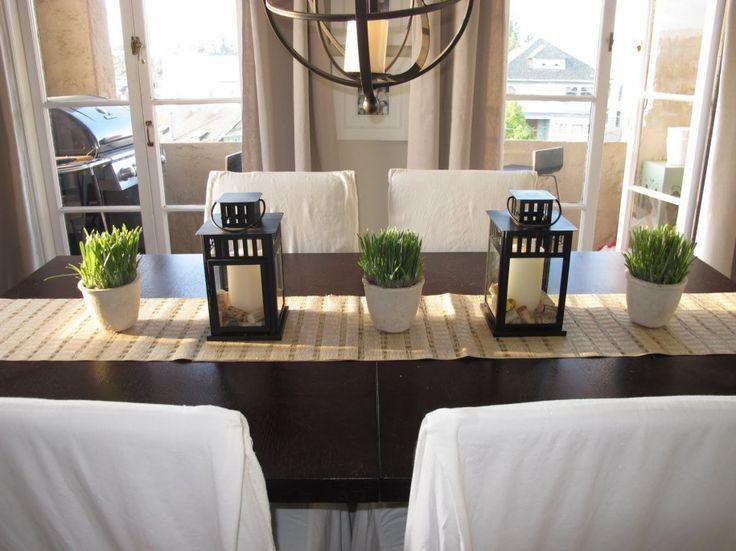mittelst ck ideen f r esszimmer tabelle for the house pinterest rh pinterest com Spring Dining Table Centerpieces dining room table centerpieces diy