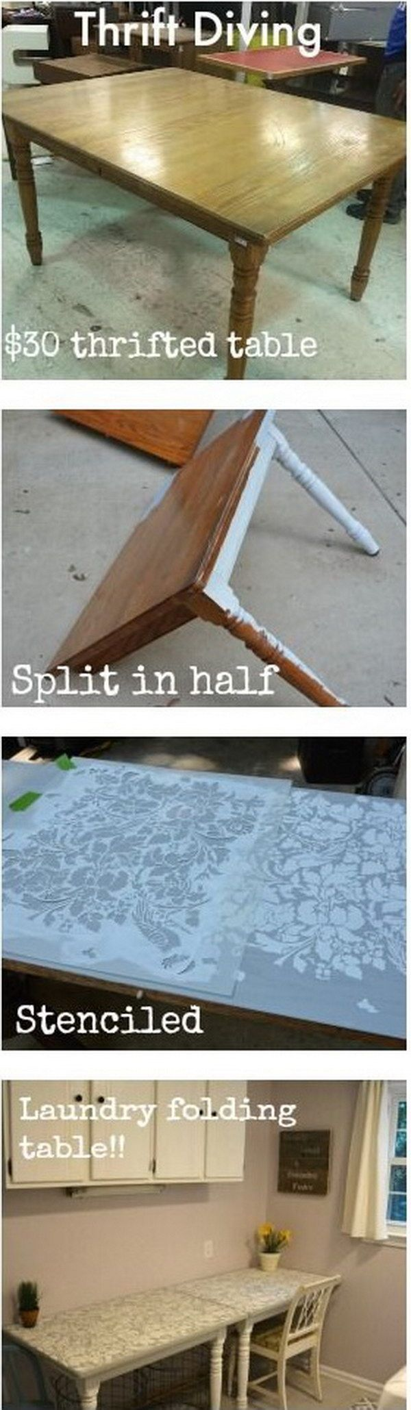 40 Awesome Makeovers: Clever Ways With Tutorials to Repurpose Old Furniture