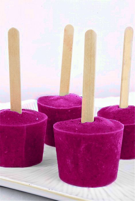 Raspberry Coconut Popsicles makes roughly twenty 3 oz. popsicles 1 cup raspberries (fresh or frozen) 1 cup blueberries (fresh of frozen) 1 14 oz. can coconut milk (full-fat or light) 2 cups water 1 cup apple juice (or any other juice you have on hand) 1/2 cup honey (or more–adjust to taste) 5 oz. Dixie cups wooden popsicle sticks Combine all of the ingredients in your blender. Pour mixture into 5 oz. Dixie cups, filling 2/3 of the way. Freeze for 30 minutes, insert sticks, & continue to…