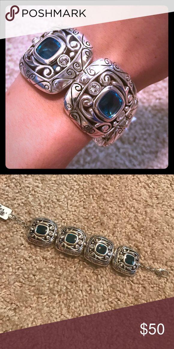 Azure Brighton bracelet! Azure Brighton bracelet! Brighton Jewelry Bracelets
