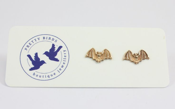 Pretty Birds Creations - Bat Studs