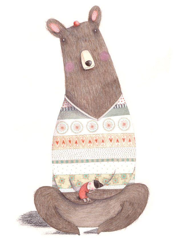 christinepym.blog...so cute: Art Illustrations, Christinepym, Childrenkid Illustrations, Teddy Bears, Bears Ilustr, Bears Hugs, Children Illustrations, Christine Pym, Beautiful Illustrations