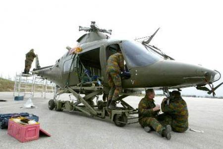 Deux hélicoptères belges resteront au Mali à la fin de la mission Serval