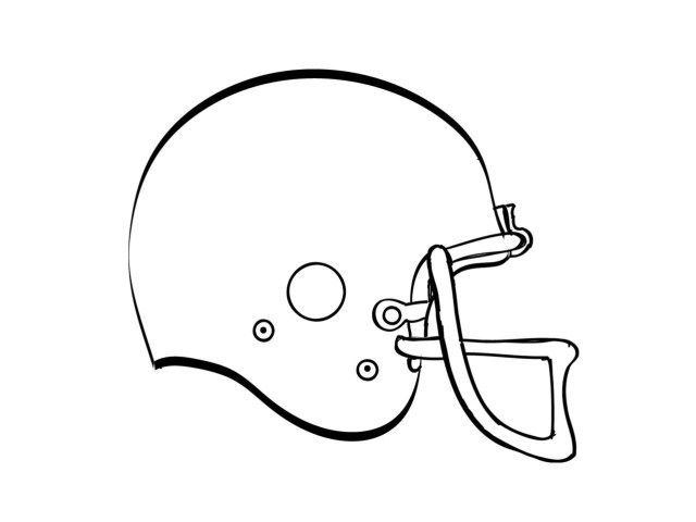 25 Creative Picture Of Football Helmet Coloring Page College