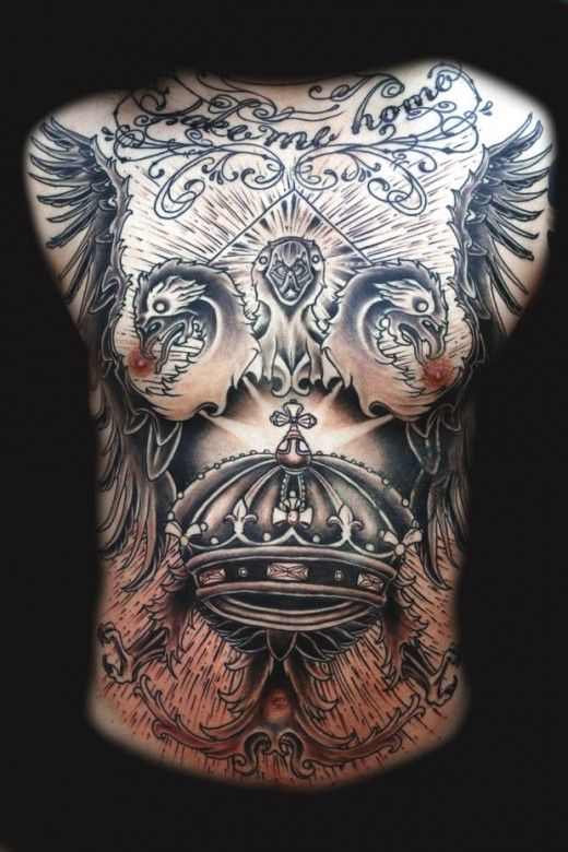 Large Chest Tattoo