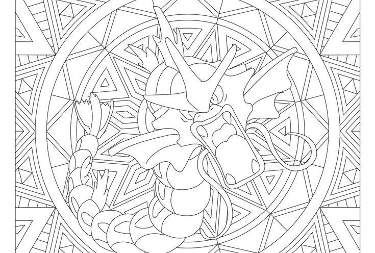 Gyarados Pokemon 130 Pokemon Coloring Pages Pokemon Coloring Coloring Pages
