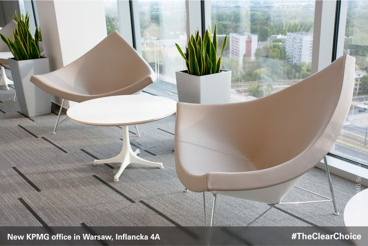The new KPMG office in Warsaw has 32 conferences rooms, many spaces designated for group work as well as soundproofed cubicles. #KPMG #newoffice #inflancka #Warsaw #Poland #workspace #TheClearChoice