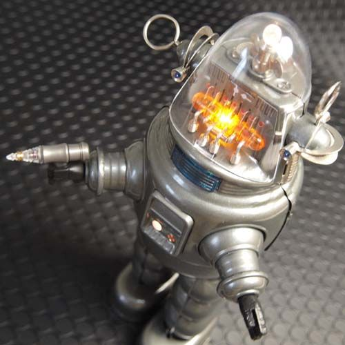 Tin toy robot lobby