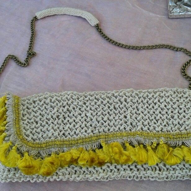 Borsa#crochet#nappine
