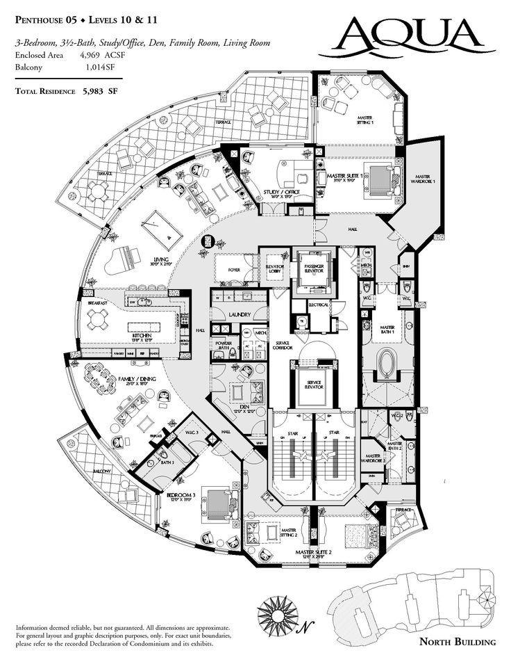 35 best Luxurious Floor Plans images on Pinterest | House ...