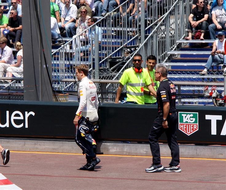 S. Vettel in Monaco