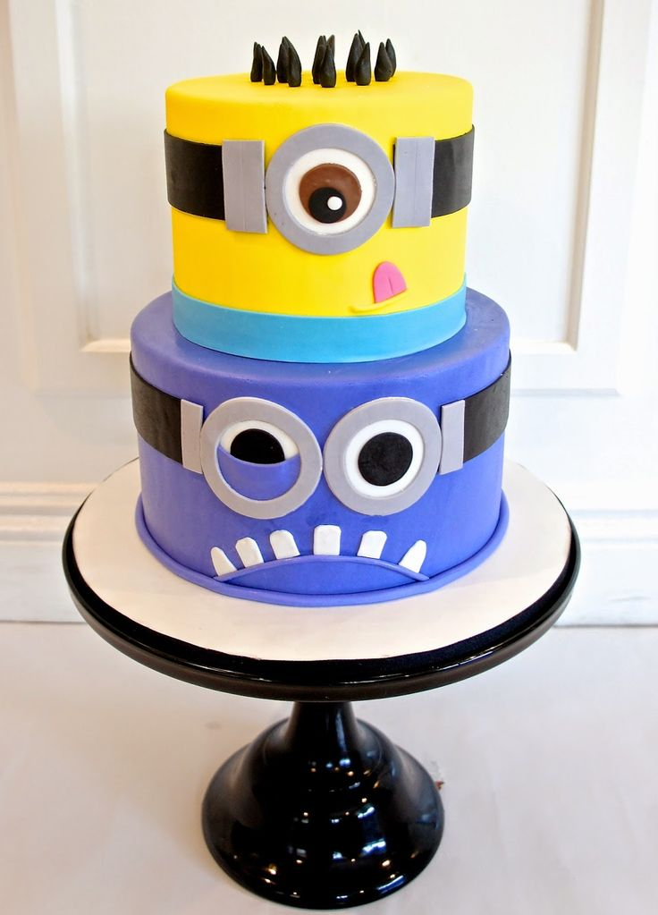 #minion #cake by Half Baked Co.