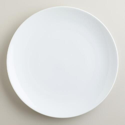One of my favorite discoveries at WorldMarket.com: Coupe Dinner Plates, Set of 4