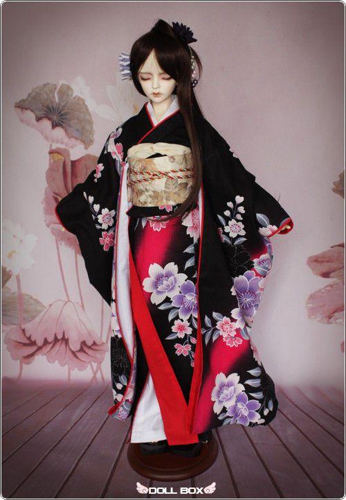 [DD BOX]H1 Kimono BJD Doll SD size outfit 1/3 Super Dollfie LUTS;DZ;DOD