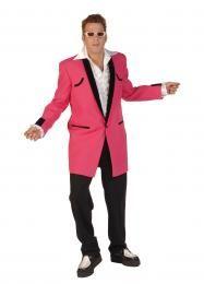 Val op met deze roze blazer, dan zie je er echt hip uit op elke feest!